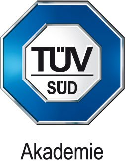 tuev sued akademie logo - Silwa Deluxe Boxspringbett