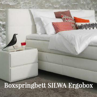 Boxspringbett Silwa Ergo-Boxspring