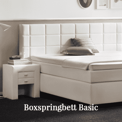 Boxspringbett Basic