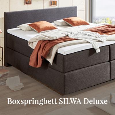 Boxspringbett Silwa Deluxe
