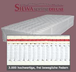 SILWA Spring Deluxe Boxspring-Matratze 3.000