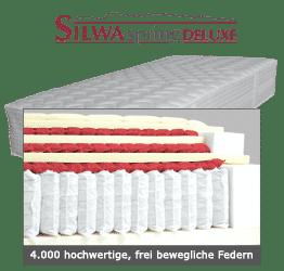 SILWA Spring Deluxe Boxspring-Matratze 4.000