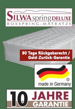 variante 1 silwa spring deluxe - Boxspringbett Silwa Elegance 101