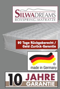 variante 4 silwa dreams boxspring matratze - Boxspringbett Silwa Elegance 101