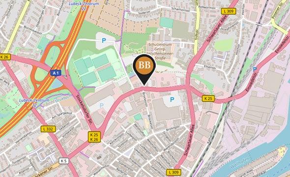 Boxspringbetten Filiale Lübeck Anfahrt