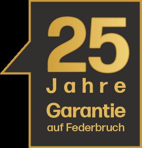 Boxspring Federbruch-Garantie